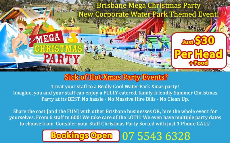 Staff Christmas Party Ideas Brisbane Part - 25: We Are The Brisbane EVENT U0026 PARTY EXPERTS!