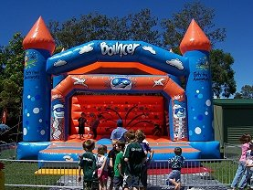 Brisbane Jumping Castle Hire for school fetes and parties