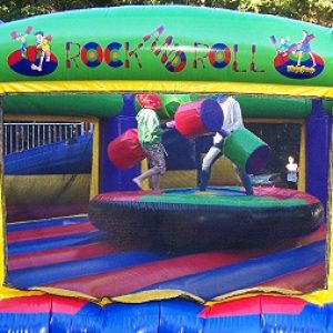 Inflatable Rock and Roll Gladiator Duel