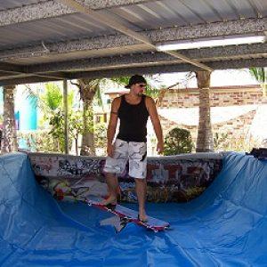 Mechanical Skate Board
