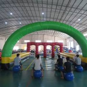Inflatable Horse Race Field